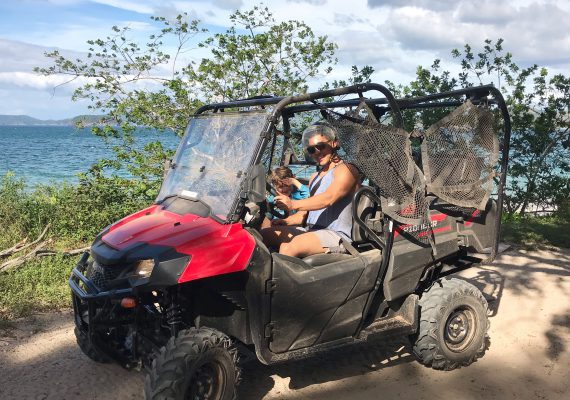 Flamingo Beach UTV tour