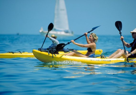 kayak & Snorkel  Tour Flamingo Beach: